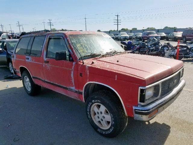 1991 CHEVROLET BLAZER S10