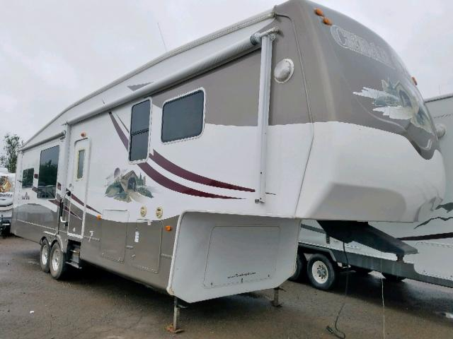 Salvage 2008 Wildwood CEDARCREEK for sale
