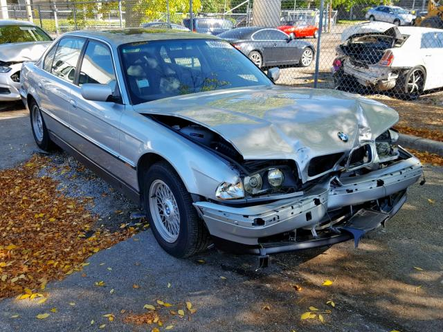 Salvage 1997 BMW 740 IL for sale