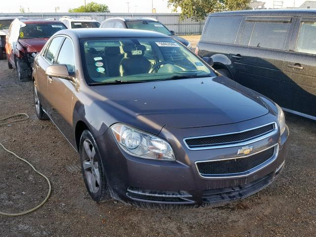 Salvage cars for sale from Copart Mercedes, TX: 2011 Chevrolet Malibu 1LT