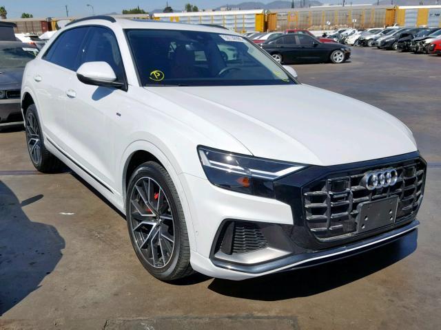 Salvage 2019 Audi Q8 PREMIUM for sale