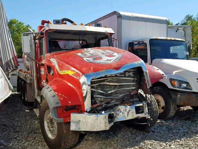 Salvage cars for sale from Copart Hurricane, WV: 2019 Mack Granite