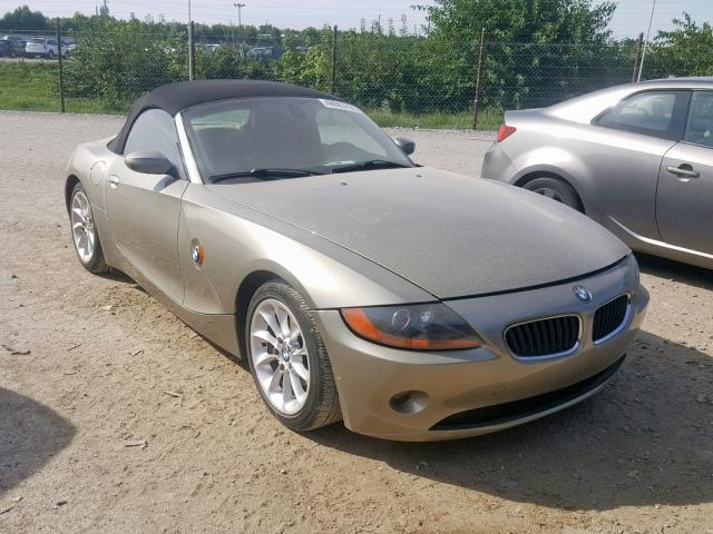 Salvage 2004 BMW Z4 2.5 for sale
