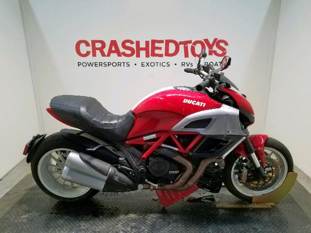 Salvage 2013 Ducati DIAVEL for sale