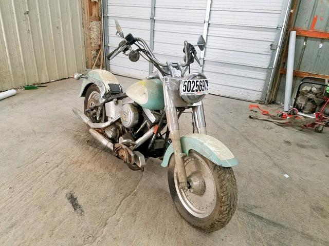 Salvage 1996 Harley-Davidson FLSTF for sale