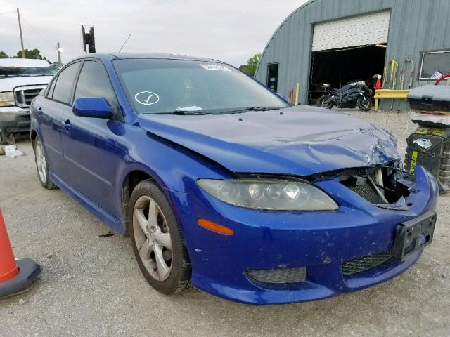 Salvage cars for sale from Copart Wichita, KS: 2005 Mazda 6 I