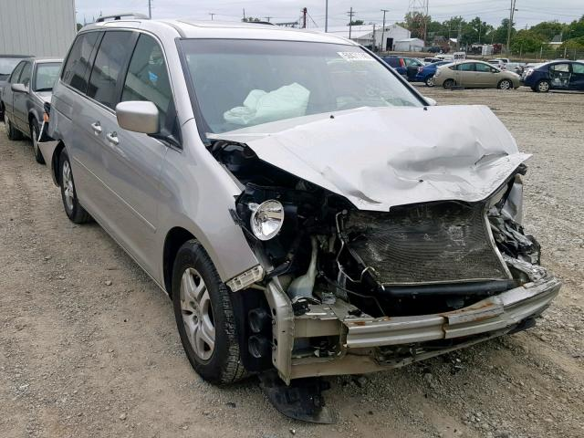 Salvage cars for sale from Copart Hartford City, IN: 2007 Honda Odyssey EX