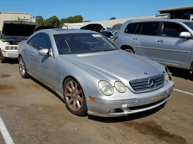 Salvage 2001 MERCEDES-BENZ CL 500 - Small image. Lot 50301899