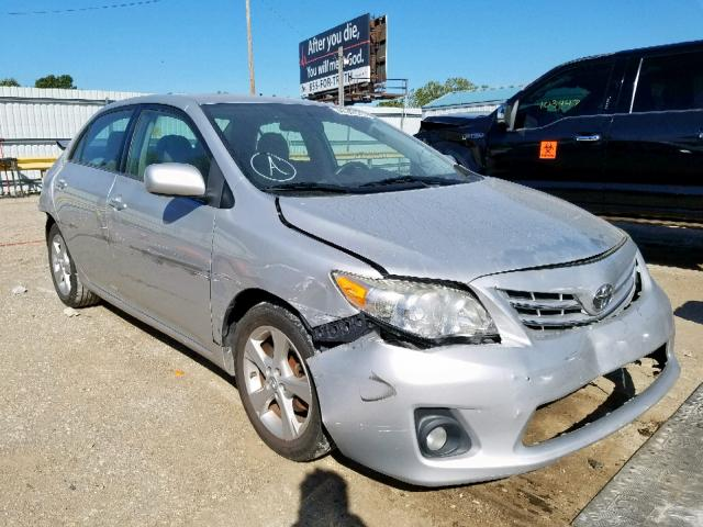 Salvage cars for sale from Copart Wichita, KS: 2013 Toyota Corolla BA