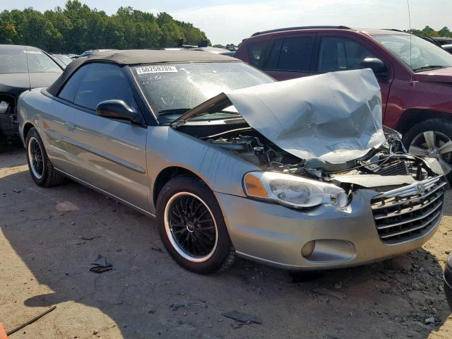 auto auction ended on vin 1c3el55r05n586134 2005 chrysler sebring to in ga atlanta west autobidmaster