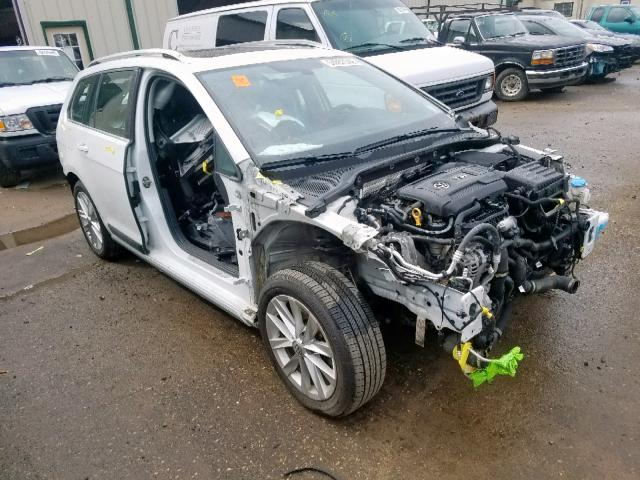 Salvage 2017 Volkswagen GOLF ALLTR for sale