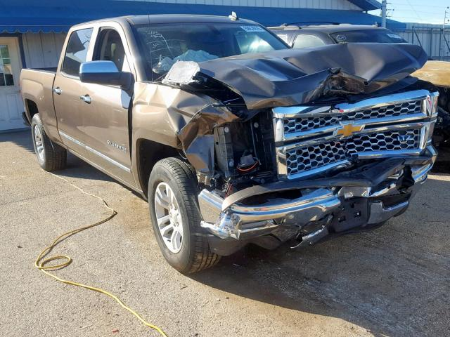 Salvage cars for sale from Copart Pekin, IL: 2014 Chevrolet Silverado