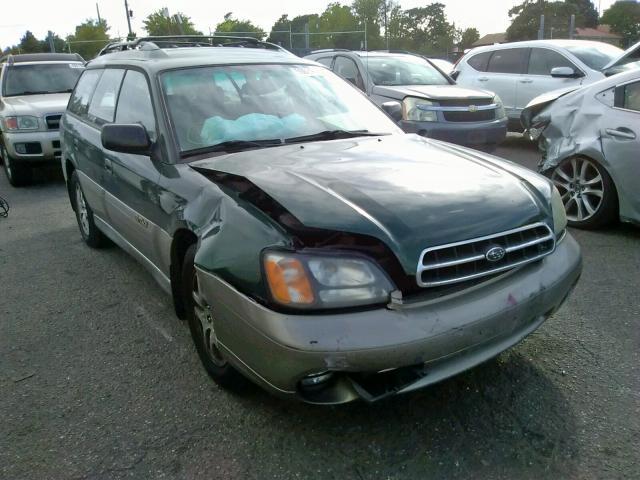 Salvage 2002 Subaru OUTBACK for sale