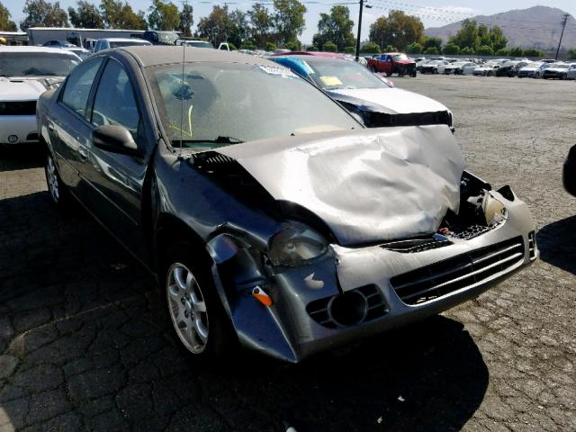 Salvage cars for sale from Copart Colton, CA: 2004 Dodge Neon SX 2