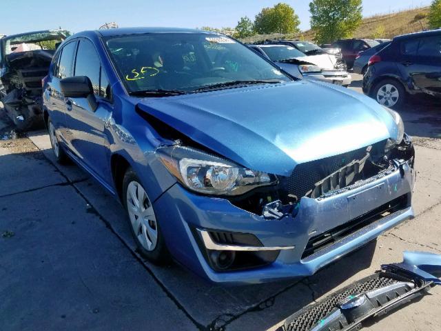 2016 Subaru Impreza 2.0L