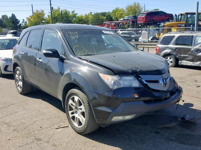 Acura MDX salvage cars for sale: 2009 Acura MDX