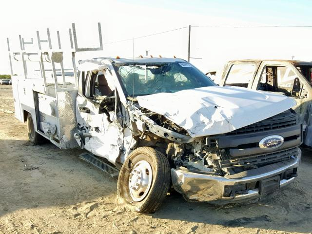 Salvage 2017 Ford F350 SUPER for sale