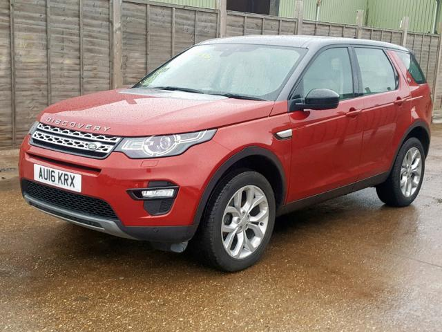 LAND ROVER DISCOVERY - 2016 rok