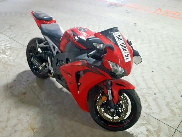 Salvage 2009 Honda CBR1000 RR for sale