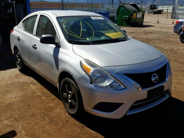Salvage cars for sale from Copart Colorado Springs, CO: 2015 Nissan Versa S