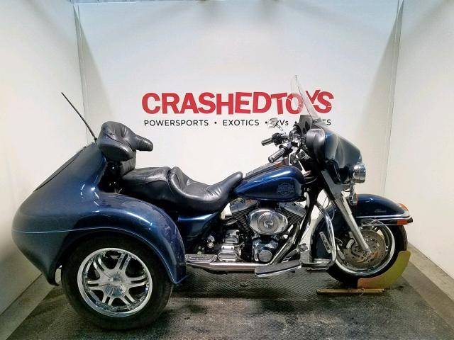 Salvage 2001 Harley-Davidson FLHTCI for sale