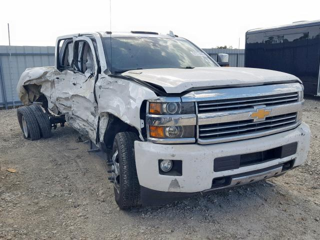 Salvage cars for sale from Copart Temple, TX: 2016 Chevrolet 3500HD