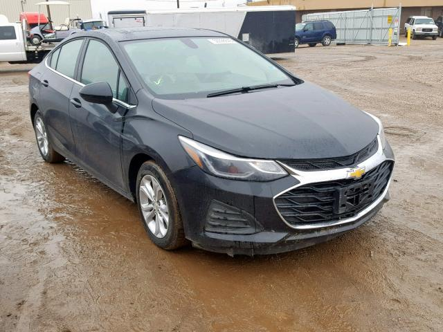 Salvage cars for sale from Copart Casper, WY: 2019 Chevrolet Cruze LT