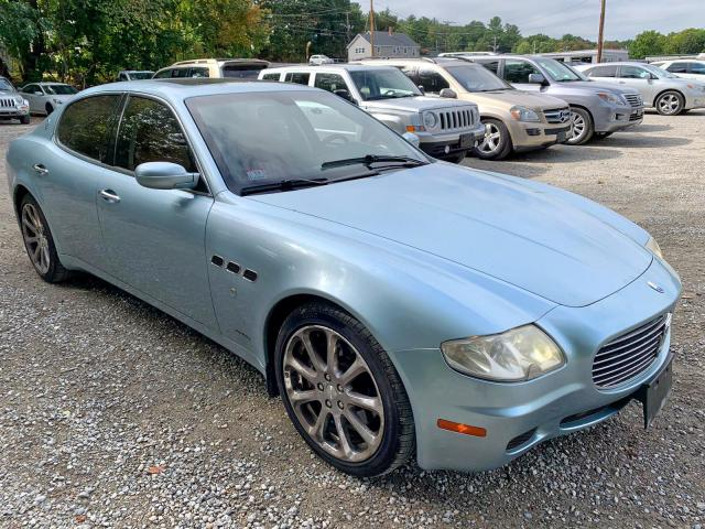 click here to view 2006 MASERATI QUATTROPOR at IBIDSAFELY