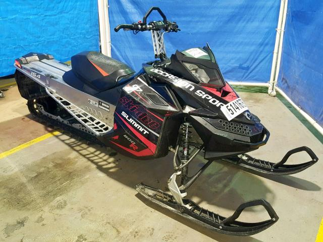 Skidoo salvage cars for sale: 2016 Skidoo Summit