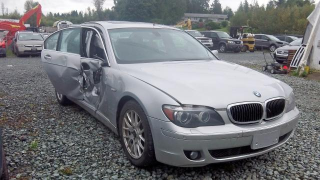 Salvage 2008 BMW 750 I for sale