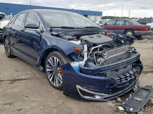 Salvage 2017 Lincoln MKZ RESERV for sale