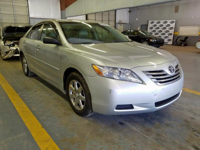 Salvage 2007 Toyota CAMRY HYBRID for sale
