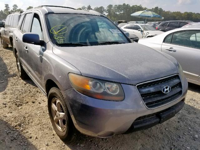 Salvage cars for sale from Copart Houston, TX: 2007 Hyundai Santa FE G