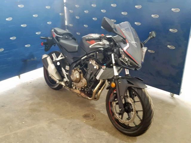 Salvage 2019 Honda CBR500 R for sale