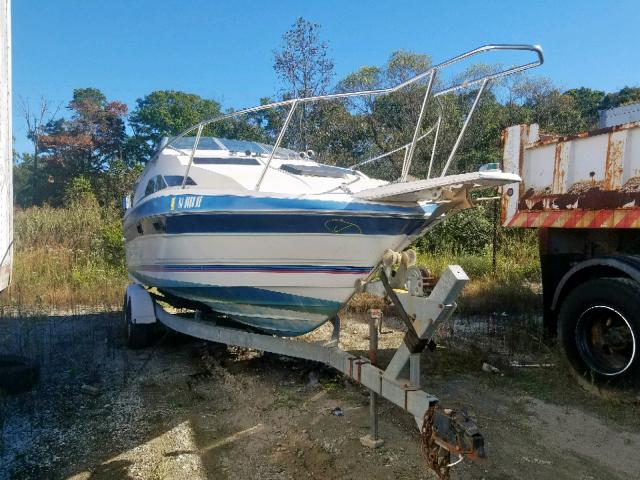 Bayliner salvage cars for sale: 1987 Bayliner 2550 Sunbr