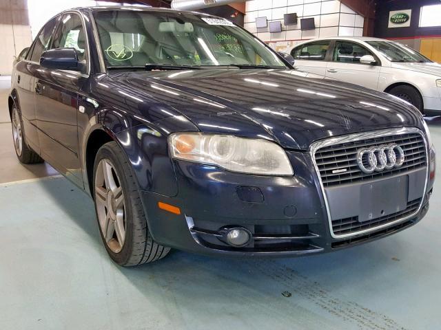 2007 Audi A4 2.0T Qu 2.0L
