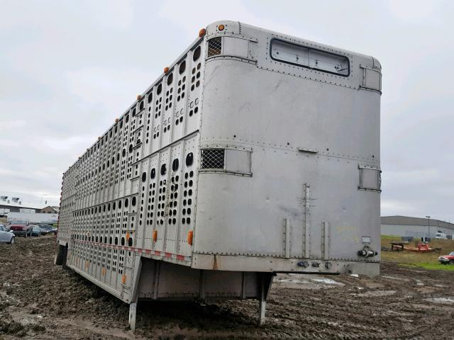 Wilson salvage cars for sale: 2001 Wilson Trailer