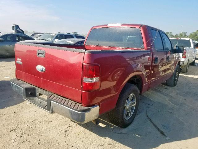 2008 FORD F150 - Right Rear View