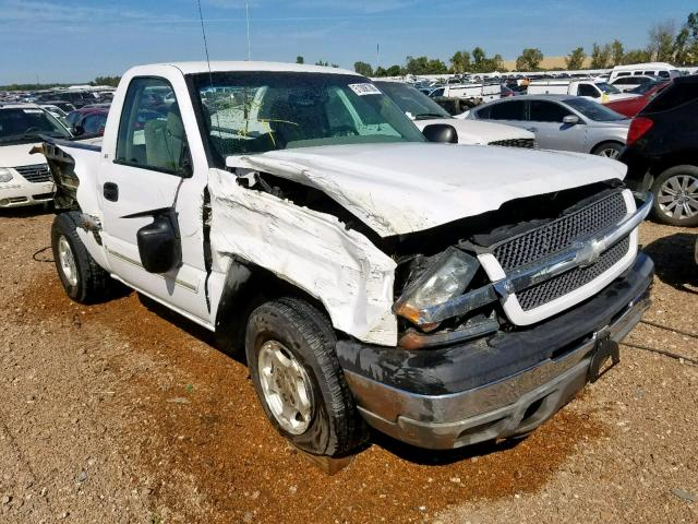 Salvage cars for sale from Copart Bridgeton, MO: 2003 Chevrolet Silverado