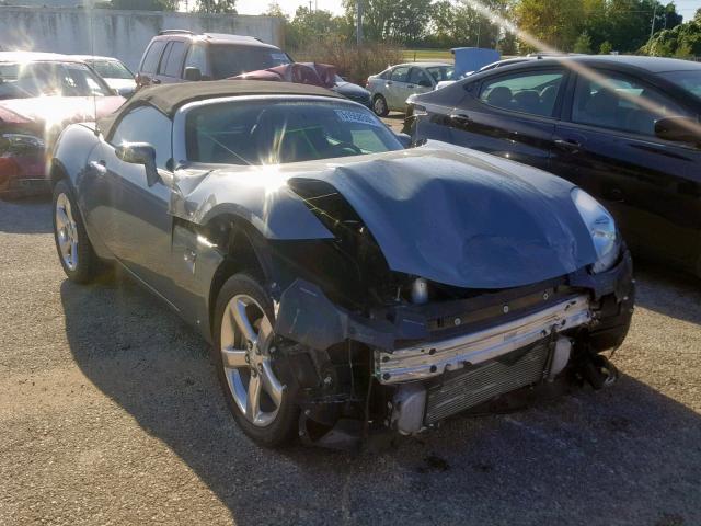 Salvage 2007 Pontiac SOLSTICE G for sale