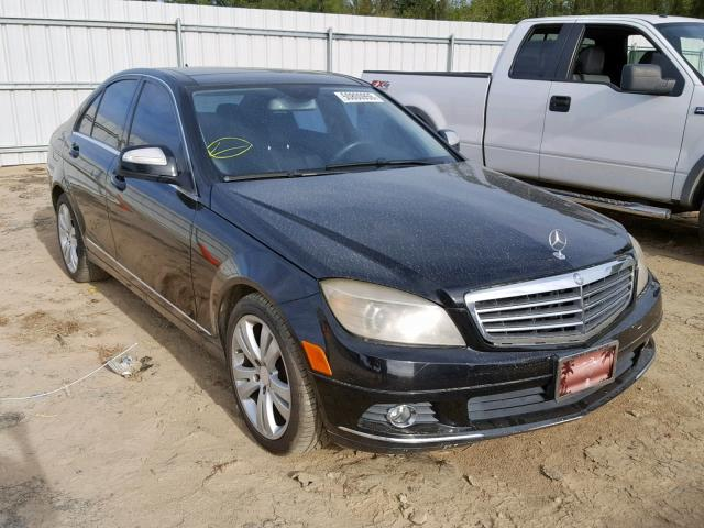 Mercedes-Benz C300 salvage cars for sale: 2008 Mercedes-Benz C300