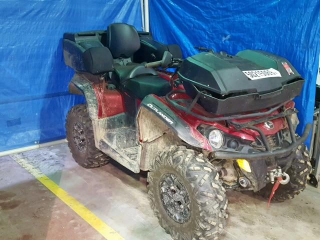 Salvage 2018 Can-Am OUTLANDER for sale