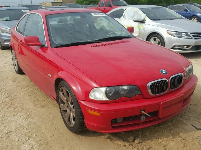 2003 BMW 325CI 2.5L