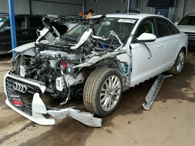 WAUGGAFC4CN061731 - 2012 AUDI A6 3.0 QUA