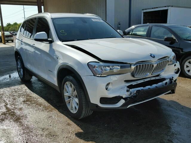 2016 BMW X3 XDRIVE2 2.0L
