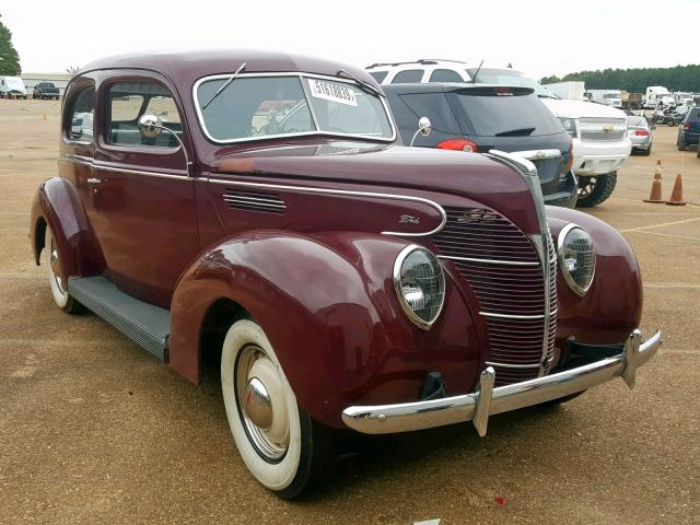 Salvage 1939 Ford DELUXE for sale