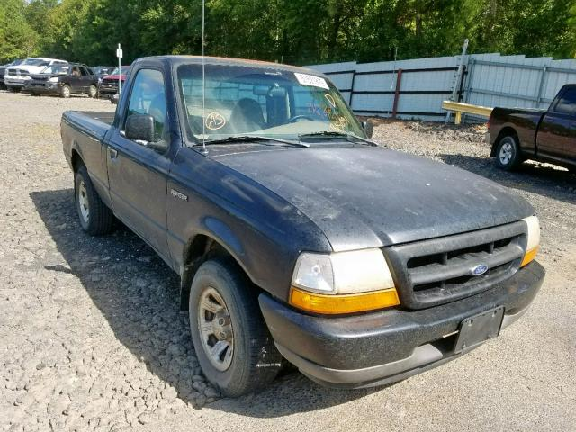 Salvage cars for sale from Copart Lufkin, TX: 2000 Ford Ranger
