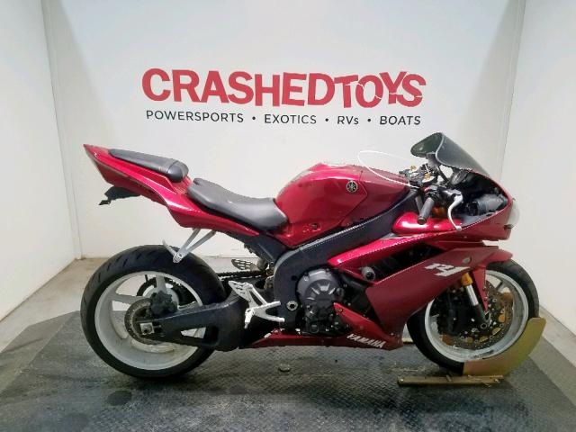 Yamaha YZFR1 salvage cars for sale: 2008 Yamaha YZFR1