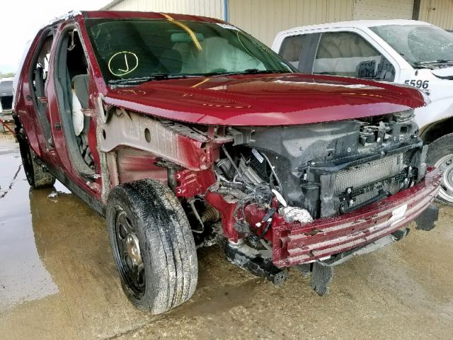 Salvage 2018 Ford EXPLORER P for sale