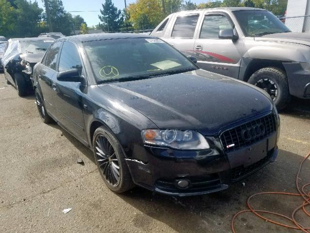 Audi A4 S-Line salvage cars for sale: 2007 Audi A4 S-Line